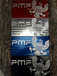 PMF Billet Aluminum License Plate