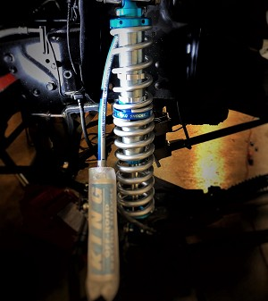 Custom Front King 2.5 Coilovers