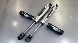 2005-16 Ford SD Fox Factory 2.5 Front Remote Reservoir Shocks
